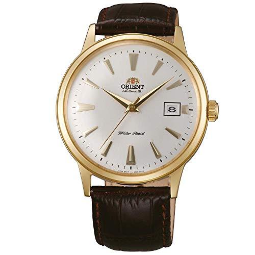 Orient Unisex Erwachsene Analog Automatik Uhr mit Leder Armband FAC00003W0