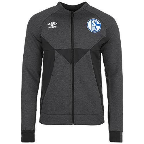 UMBRO FC Schalke 04 Präsentationsjacke Herren anthrazit/schwarz, XXL