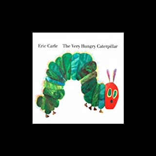 The Very Hungry Caterpillar  audiobook cover art