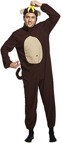 Emmas Garderobe AFFE Kostüm Männer - Perfekt für einen Stag Party-Outfit UK Größe M-XL (Men: X-Large, Monkey)