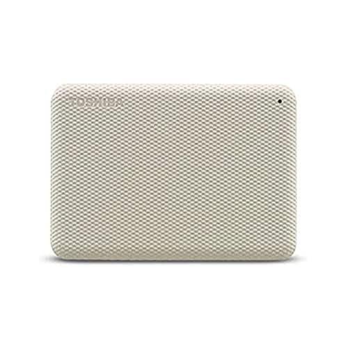 """Toshiba Canvio Advance - Hard disk da 4 TB, 2,5"""", colore: Bianco"""