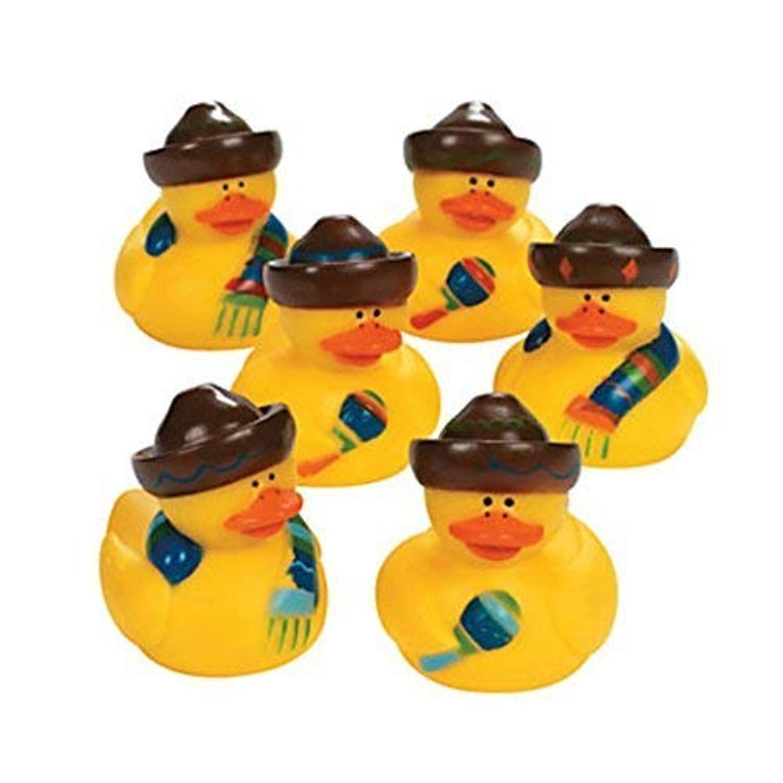 Fiesta Rubber Duckies by CusCus