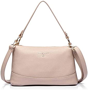 Amelie Galanti Women Vegan Leather Crossbody Shoulder Bag