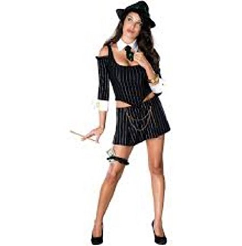 Secret Wishes Women's Mafia Princess Adult Costume, Multicolor, Medium