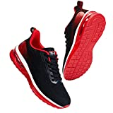 KOJOOIN Womens Air Sneakers, Running Shoes Athletic Shoes Air Cushion Mesh Breathable Comfortable Casual Tennis Shoes for Walking Fitness Sport Gym Jogging