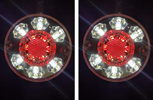 2 x unique Marqueur contour latéraux à LED 24 V LED Camion Remorque Châssis Caravane