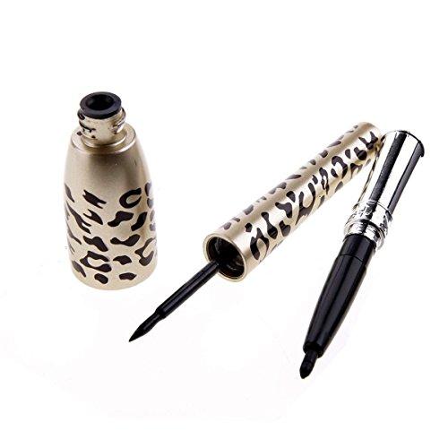 SODIAL EyeLiner Liquide Stylo Jaune Leopard Etanche Yeux Maquillage Cosmetique 4.5ML