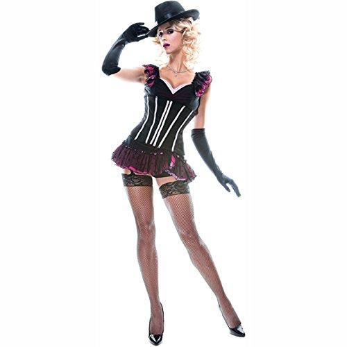 Paper Magic Burlesque Tänzerin Kostüm - Gr. XS