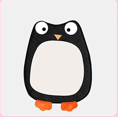 YAJAN-Pet Alfombrillas De Perro Alfombrillas para Dormir De Cuatro Estaciones Resistentes A Las Mordeduras Impermeables para Dormir Alfombrillas para Dormir Extraíbles Lavable,Owl,L