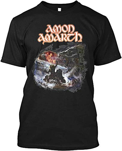 Amon Amarth Twilight of The Thunder God 3 T-Shirt, Black, 5XL