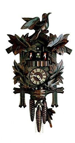 Kammerer Uhren Hekas Koekoek Klok Vier Bladeren, voeden Vogels, Nest KA 3688