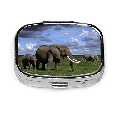 Organizador de bolsillo Caso con diseño de elefante, personalizable