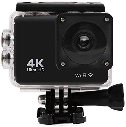 Cámara de acción 4K alta definición digital movimiento video deportes grabador submarino 30 m impermeable videocámara con casco accesorios kit