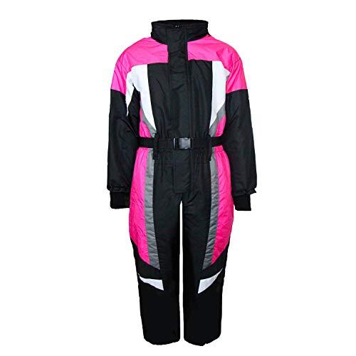 MS-Trachten Schneeanzug Alex Kinder Skianzug Winteranzug Schneeoverall (98, pink)