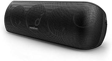 Soundcore Motion+ Bluetooth Lautsprecher mit Hi-Res 30W Audio, Intensiver Bass, Kabelloser HiFi Lautsprecher mit App, USB...