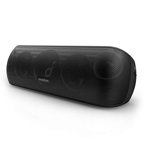 Soundcore Motion+ Altavoz Bluetooth, 30 W, Alta resolución, BassUp, Graves y Agudos...
