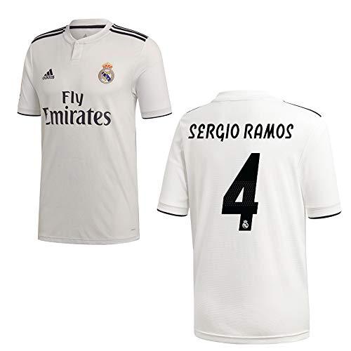 adidas REAL Madrid Trikot Home Herren 2019 - Sergio Ramos 4, Größe:M