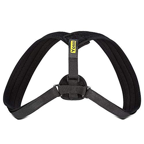 Correttore postura, ideale per spalle, schiena, misura regolabile, per uomini e donne