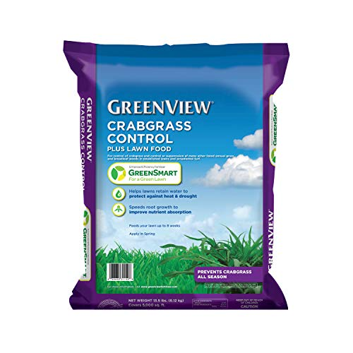 GreenView 2131251 Crabgrass Control + Lawn Food, 13.5 lb. -Covers...