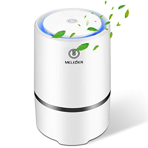 MELEDEN Air Purifier for Home with Filters, 2019 Upgraded Design Low Noise Air Purifiers?Desktop Air Cleaner