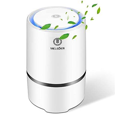 【7/まで】MELEDEN HEPAフィルター採用ポータブル空気清浄機 1,960円送料無料!