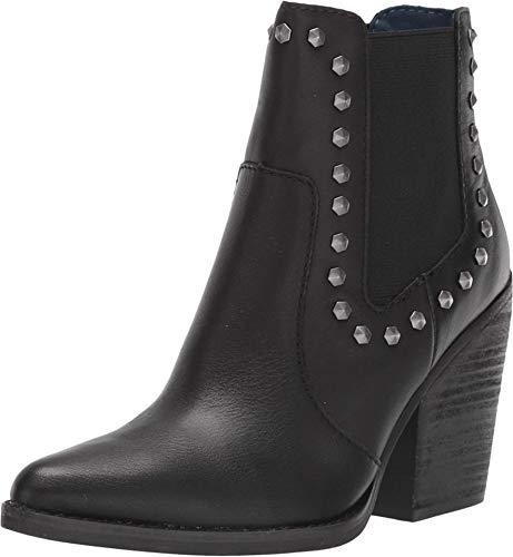 Dingo Women's Stay Sassy Fashion Booties Snip Toe Black 7 M
