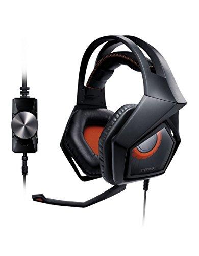 Asus Strix Pro Gaming Headset (60mm Neodym-Magnet-Treiber, abnehmbares Mikrofon, ENC) schwarz