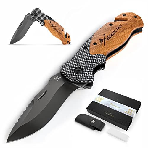 BERGKVIST BERGKVIST® 3-in-1 Taschenmesser K20 Zweihand-Messer Bild