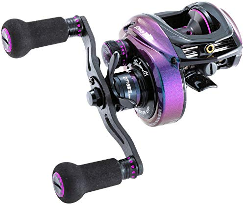 "Abu Garcia, Revo IKE Low Profile Casting Reel, 6.6:1 Gear Ratio, 11 Bearings, 27"" Retrieve Rate, Right Hand"