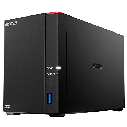 BUFFALO リンクステーション LS720D/N ネットワークHDD 2ベイ 12TB LS720D1202/N