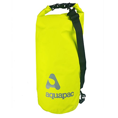 Aquapac Unisexe Épais bandoulière imperméable baluchon, Vert Acide, 25 L