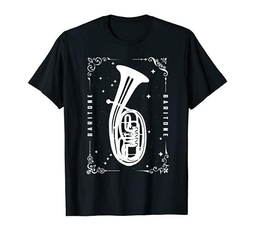 Bariton Spieler T-Shirt Geschenk Baritonhorn Lehrer Tenor T-Shirt