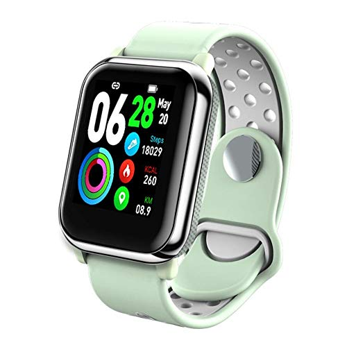 SAILORMJY Fitness trackers, Smart Band,Fitness horloge,Bluetooth verbinding met gezondheid monitoring, informatie push, slaap analyse, stappenteller voor android platform, Apple iOS platform D