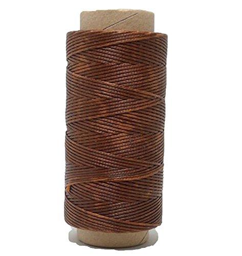 Hilo Encerado de Poliester para Coser Cuero Bobina de 260 m especial Guarnicionero Color Marron Oscuro 4357moscuro