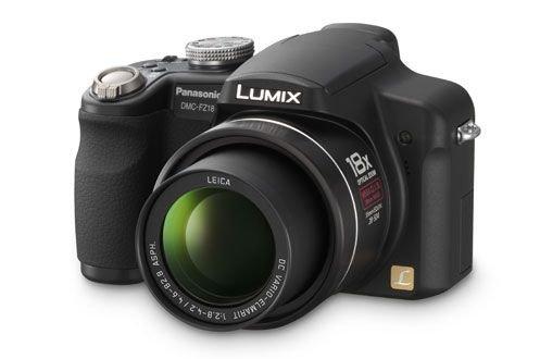 Panasonic DMC-FZ18 EG-K Digitalkamera (8 Megapixel, 18-fach opt. Zoom, 2,5