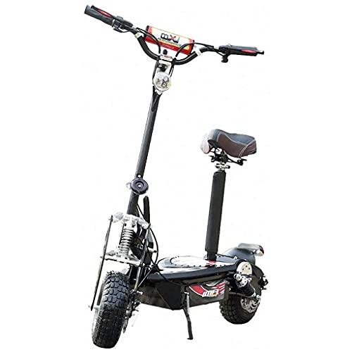 J&LILI Offroad Electric Scooter, Portátil, Scooter Eléctrico Plegable para El Tráfico De Péndulo, Diseño para Un Fácil Plegado Y Uso, Scooter Ultraligero