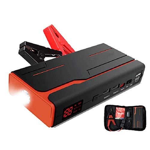 Wdszb 800A Peak 11200mAh Car Jump Starter, Arrancador de Emergencia para automóvil, Carga rápida USB, Amplificador automático de batería de 12V, Paquete de energía portátil con luz LED i