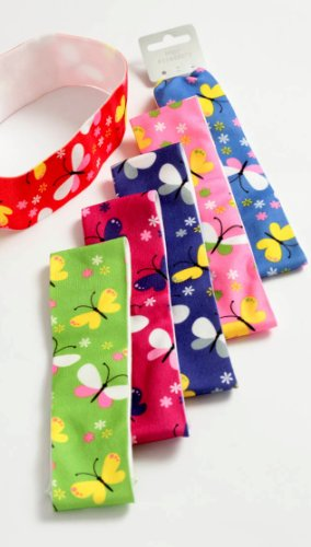 Bright Butterfly Thick Headband IN9307