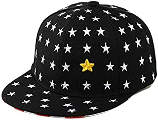 Black Cotton Baseball Hat For Kids