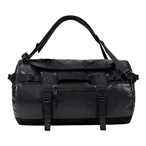 KALIDI Reisetasche Transporttasche Duffle Bag Rucksack wasserfeste Sporttasche 50L, Schwarz