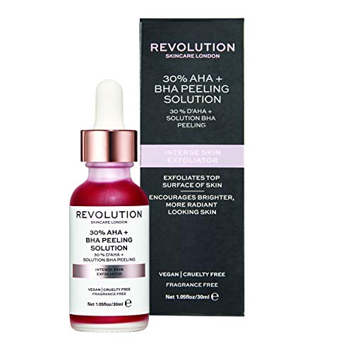 Revolution - Gesichtspeeling - Skincare Intense Skin Exfoliator - 30% AHA + BHA Peeling Solution