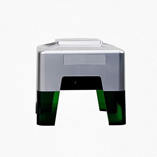 WZPG Máquina láser de Grabado láser, máquina de Grabado láser de Escritorio de 3000 MW, Rango de Grabado láser 98 * 88mm, conexión de teléfono móvil de Soporte