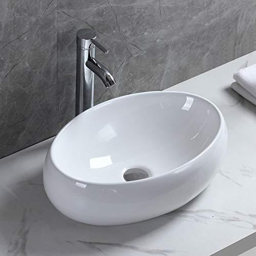 おしゃれ 洗面ボール 洗面ボウル 洗面ボール 手洗い鉢 洗面台 洗面鉢 手洗い器 洗面器 手洗器 小型洗面所 浴室洗面台用 陶器製 楕円形