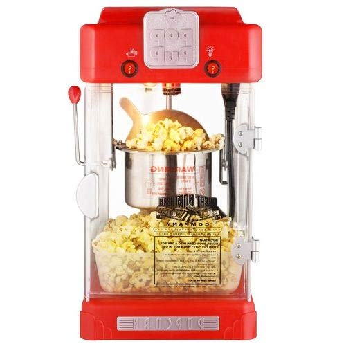 Find Discount OKSLO Machine pop pup retro style popcorn popper, 2.5 ounce
