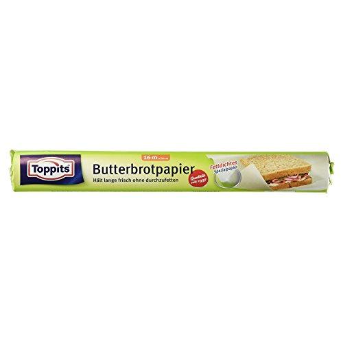 Toppits Butterbrotpapier, 16m