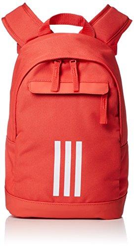 adidas A Classic XS 3S Mochila, Unisex niños, Rojo (Rojbri/Blanco), 24x36x45 cm (W x H x L)