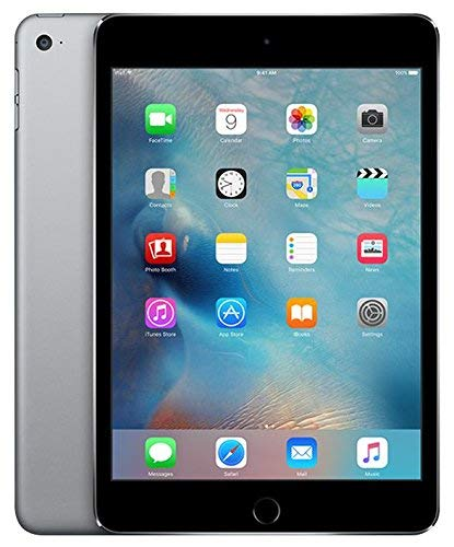 Apple iPad Mini 4 16GB Wi-Fi - Space Grey (Renewed)