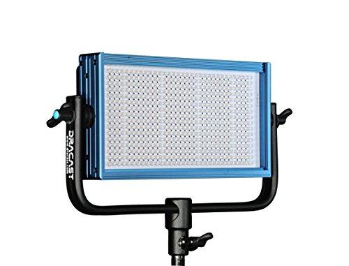 Dracast LED500 Pro Series - Daylight - G-Mount - Professional Foto & Video Dauerlicht CRI 97+ Filmbeleuchtung - Studiolicht - DRLED500DG