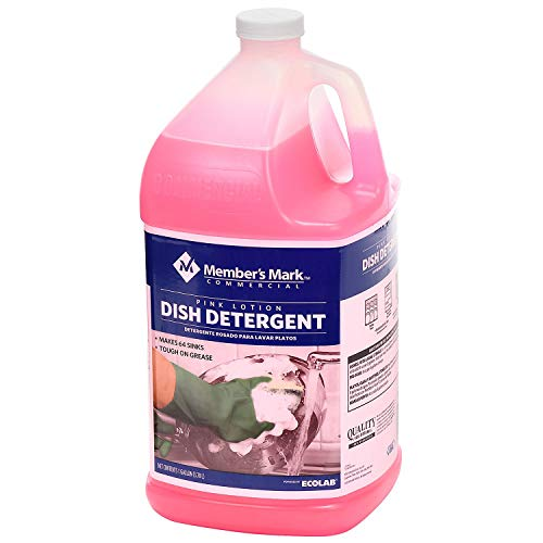 Member's Mark Commercial Pink Lotion Dish Detergent (1 gallon)