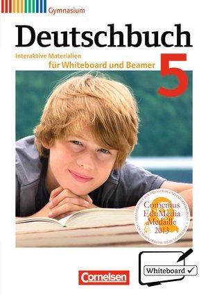 Deutschbuch Gymnasium. Allgemeine Ausgabe - Neubearbeitung. 5. Schuljahr. Interaktive Materialien für Whiteboard und Beamer. CD-ROM